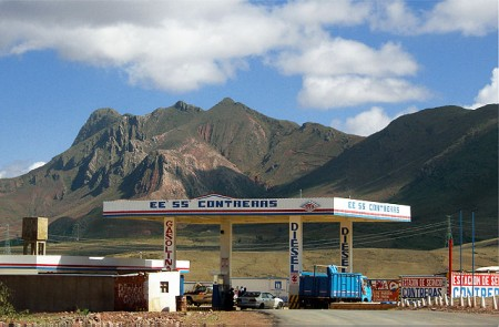 Altiplano Gas Staton, Bolivia