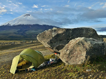 Cotopaxi-Camping